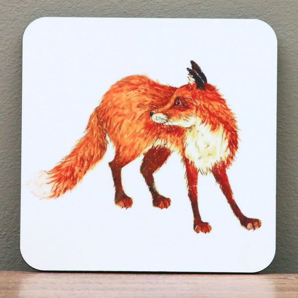 Freddy Fox Coaster by Clare Tyas.