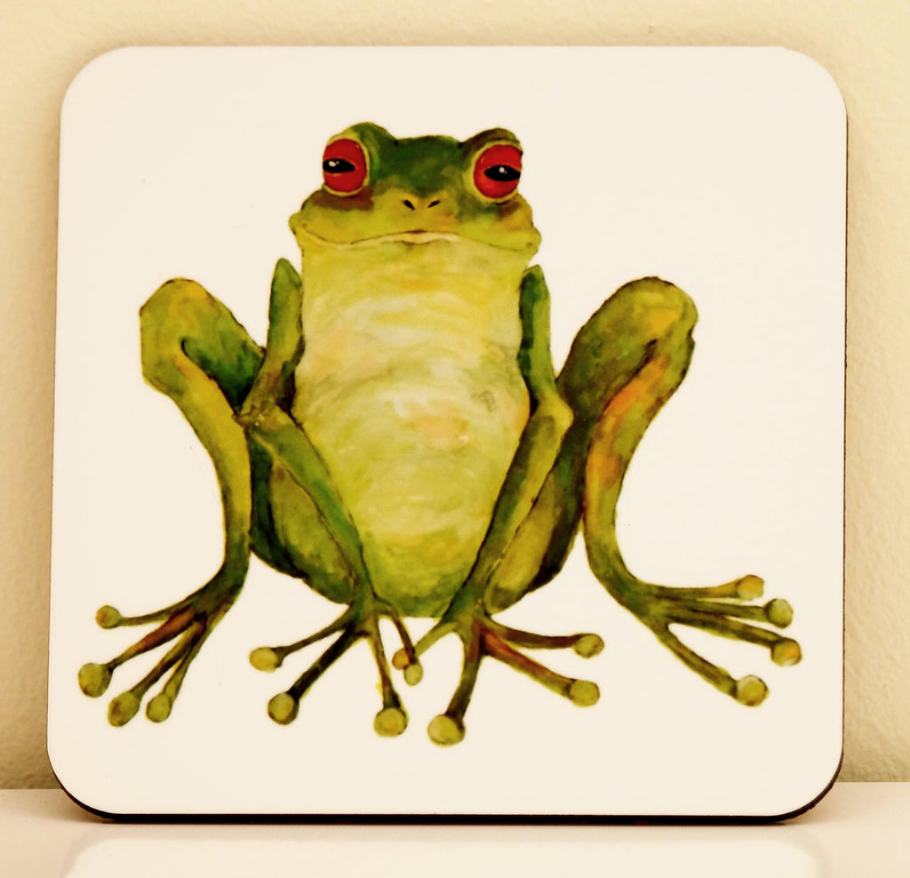 Frog coaster by Clare  Tyas
