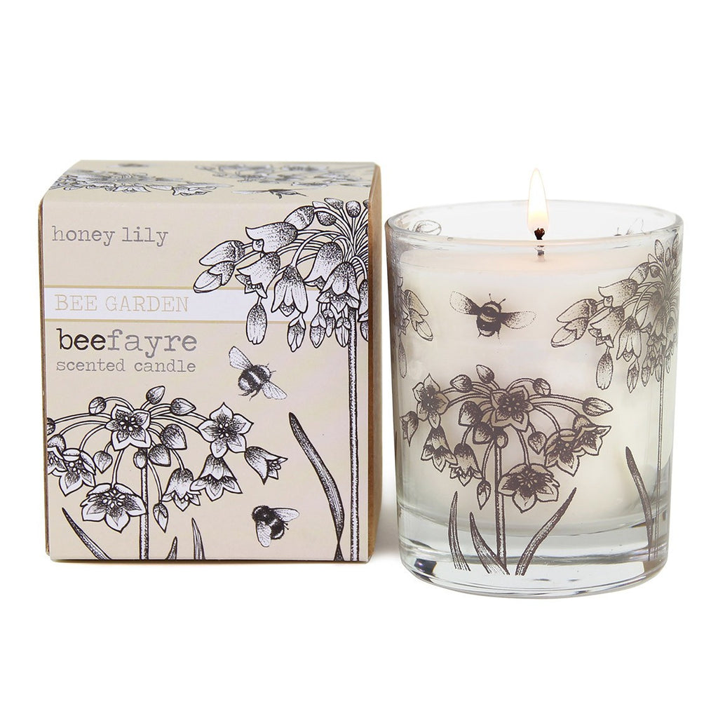 Honey Lily Large Candle
