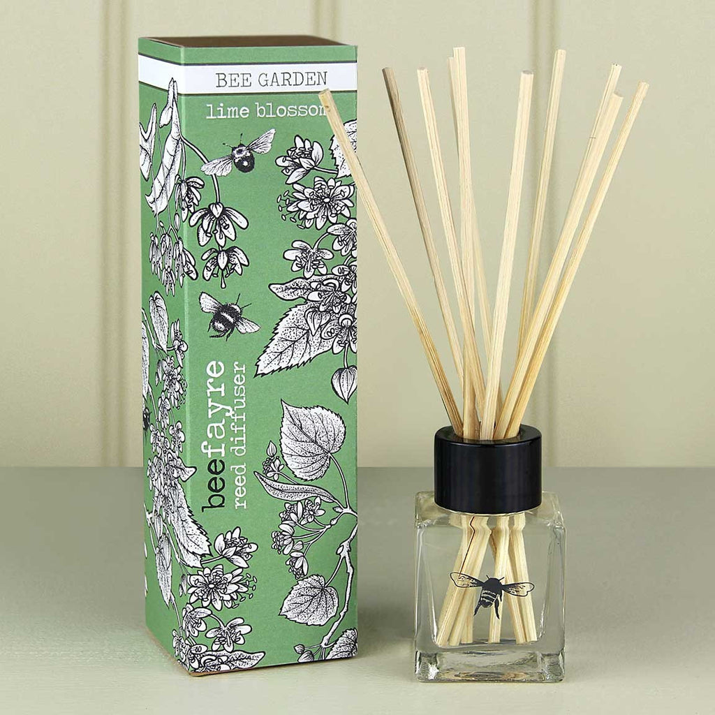 Lime Blossom Room Diffuser by Beefayre