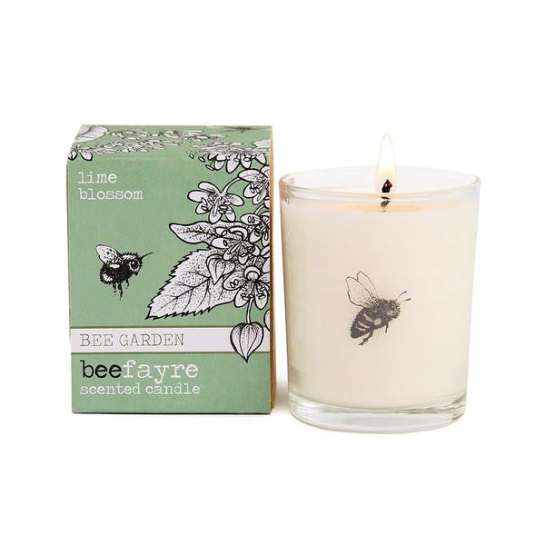 Lime Blossom Votive by Beefayre