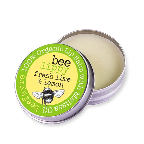 Organic Lip Balm Fresh Lime & Lemon