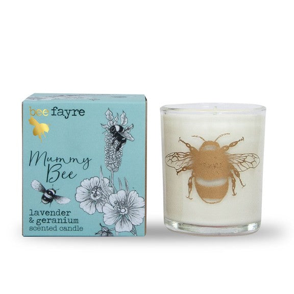 Mummy Bee Large Candle by Beefayre