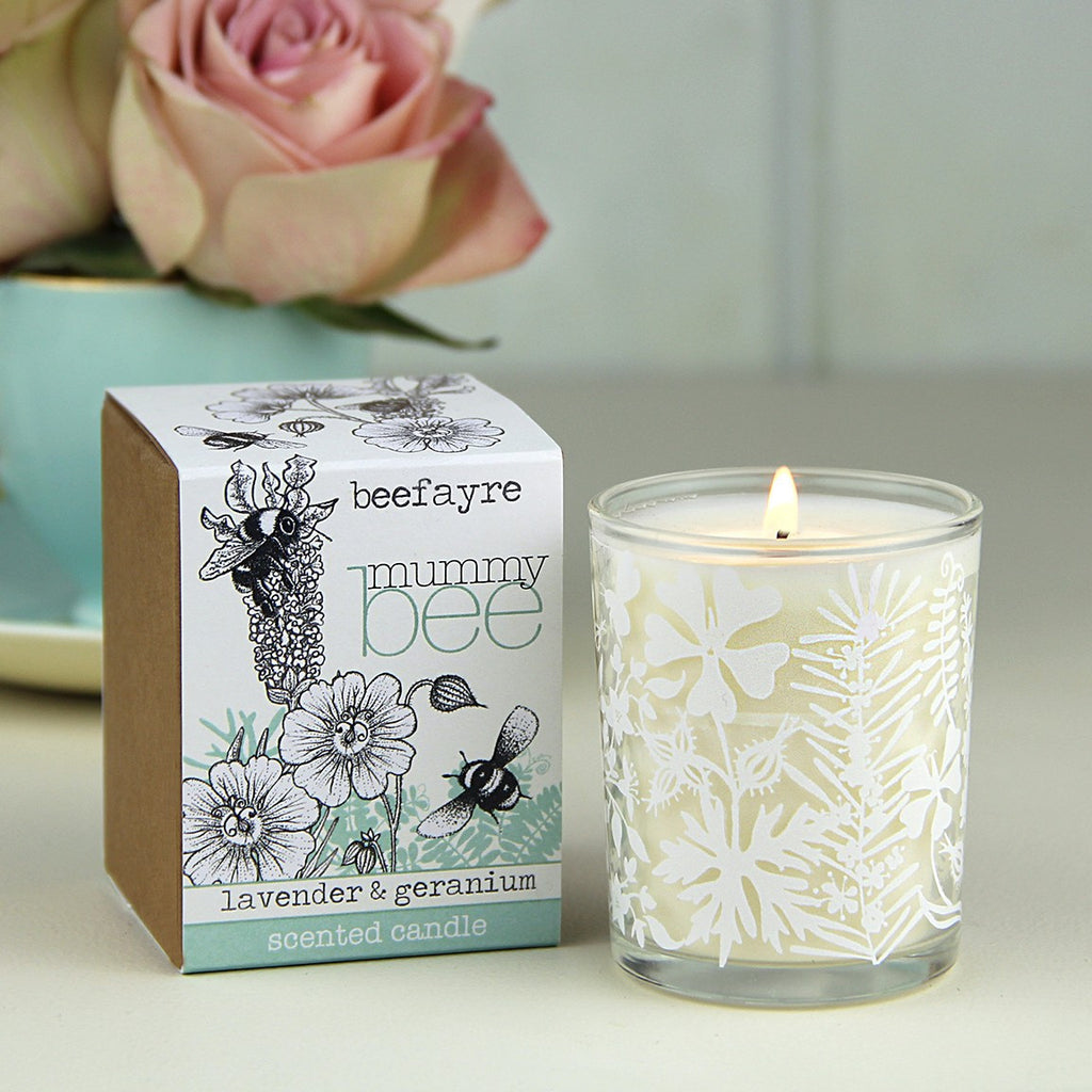 Mummy Bee Votive