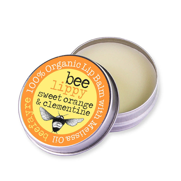 Organic Lip Balm - Sweet Orange & Clementine