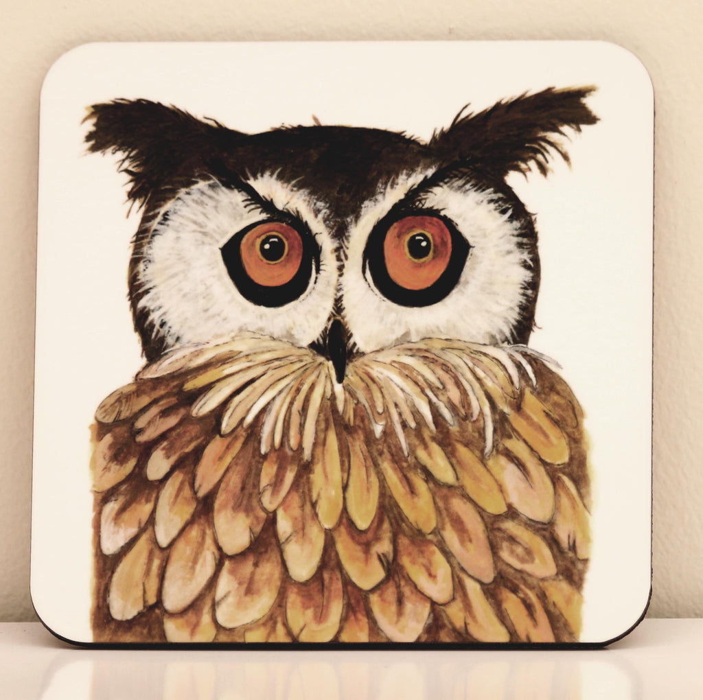 Owl coaster by Clare Tyas.