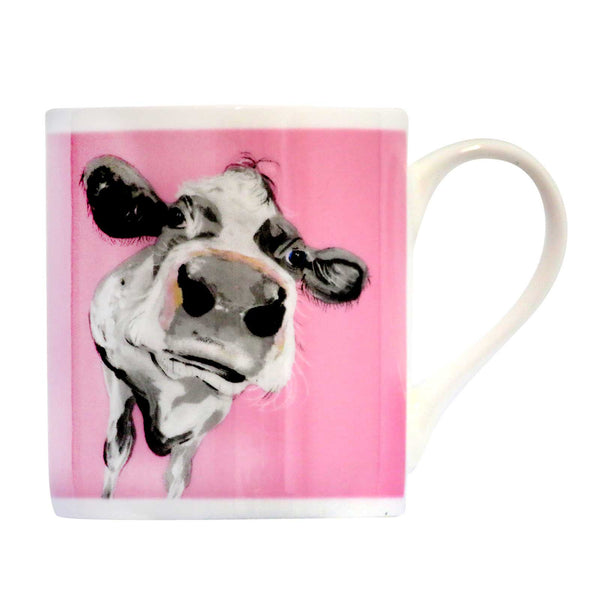 Jessica Balmoral Bone China Mug by Caroline Walker