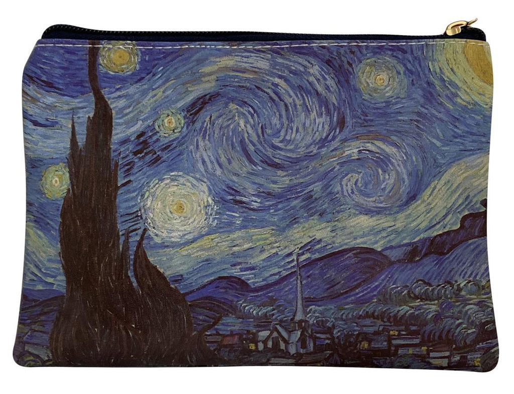 Van Gogh Starry Night Print Makeup Bag.