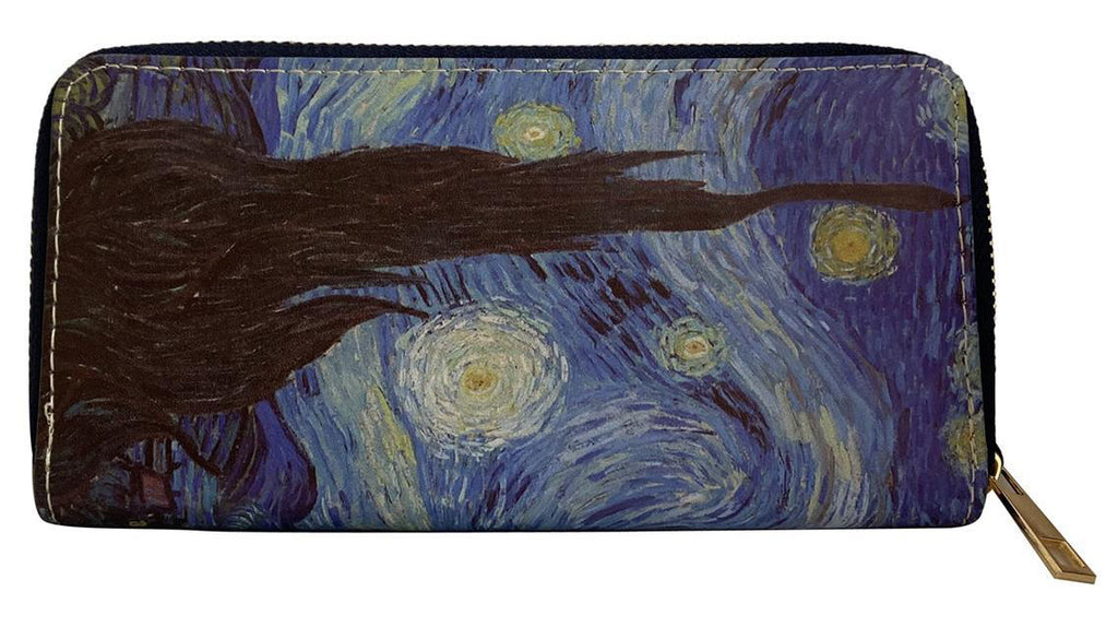 Van Gogh Starry Night Print Purse.