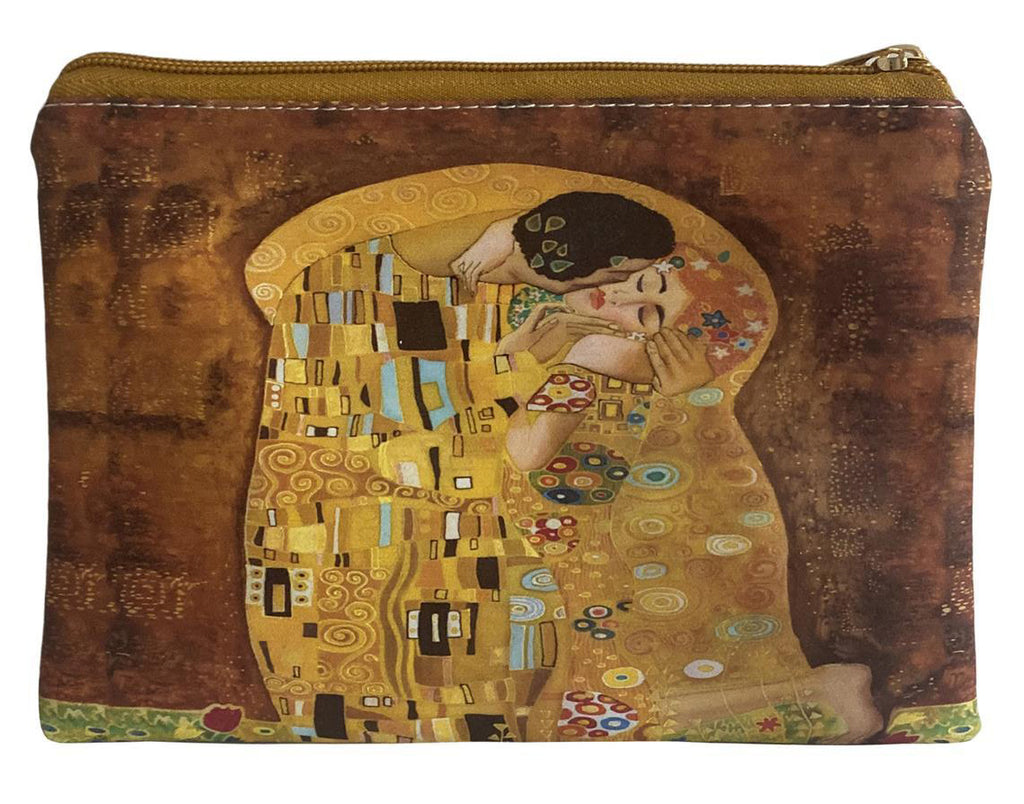 Klimt The Kiss Print Makeup Bag.