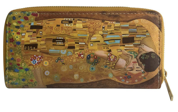 Klimt The Kiss Print Purse.