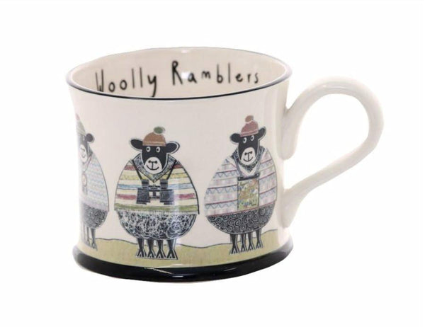 Woolly Ramblers - Earthen Ware Mug
