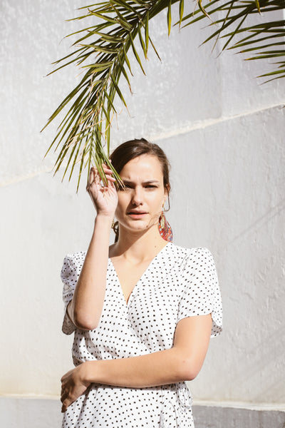 Wrap Dress | Dotty