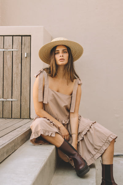 Soleil Dress | Wheat