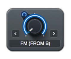 fm modulation xfer serum from b