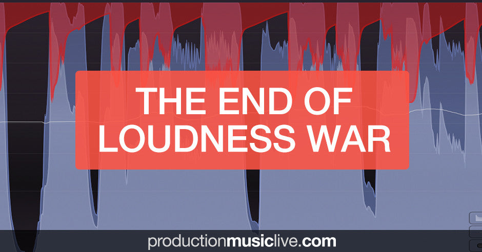 Mastering tip: The end of loudness war