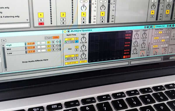 Creative DJ Effects with Multiband Splitting
