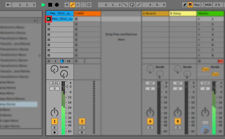 How To Use Samples In Ableton Live 10 Audio Play