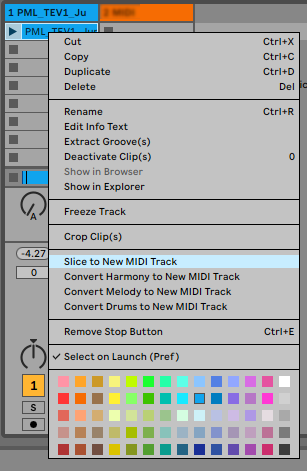 How To Use Samples In Ableton Live 10 Slice To New MIDI Track