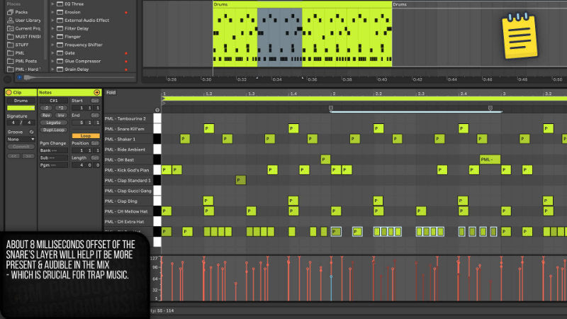Hard Trap in Ableton