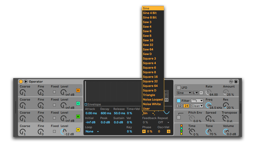 How To Make Sub Bass With Ableton Operator