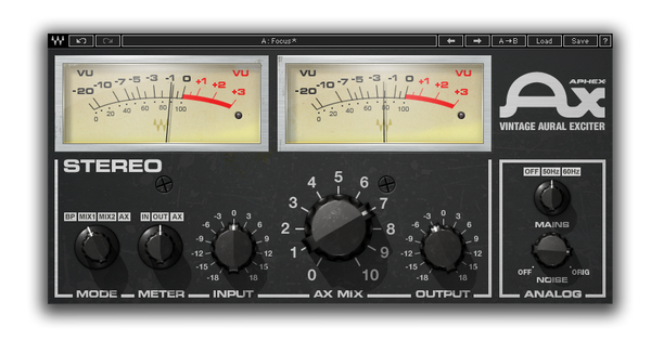 Best VST plugin for mixing Vocals Aphex Vintage Aural Exciter by Waves