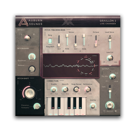 Auburn Sounds Graillon 2 is the best free VST plugin for vocals