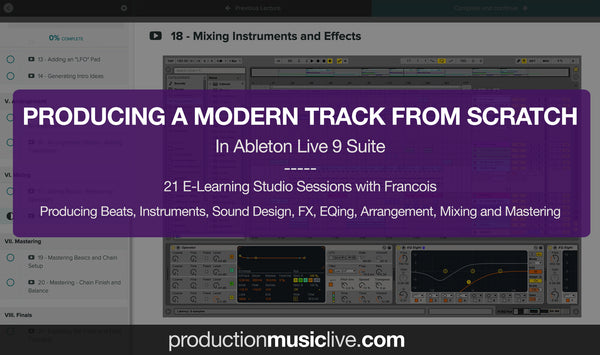 mastering effects in ableton