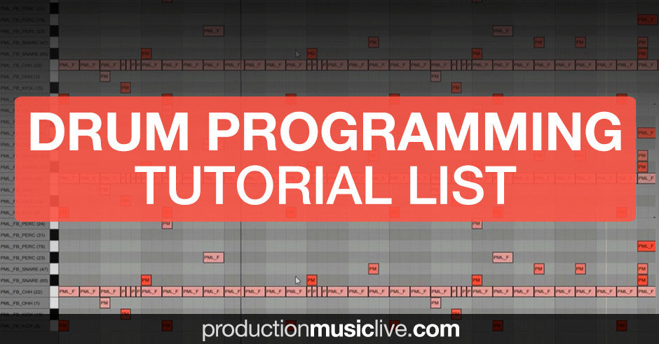 drum programming tutorials