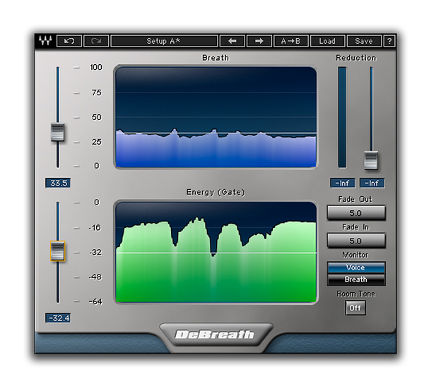 Best VST plugin for mixing Vocals DeBreath by Waves