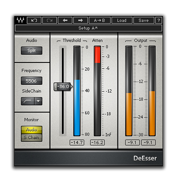 Best VST plugin for mixing Vocals DeEsser by Waves
