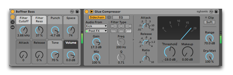 how to sidechain in ableton
