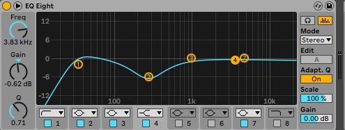 How To Make Fatter Drums Equalize Your Drums Ableton EQ