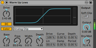 How To Make Fatter Drums Use Saturation Ableton