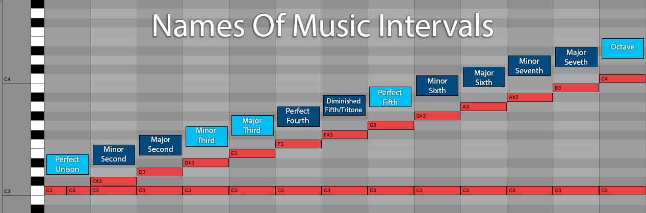 Interval Names Music Theory Ableton Live 11