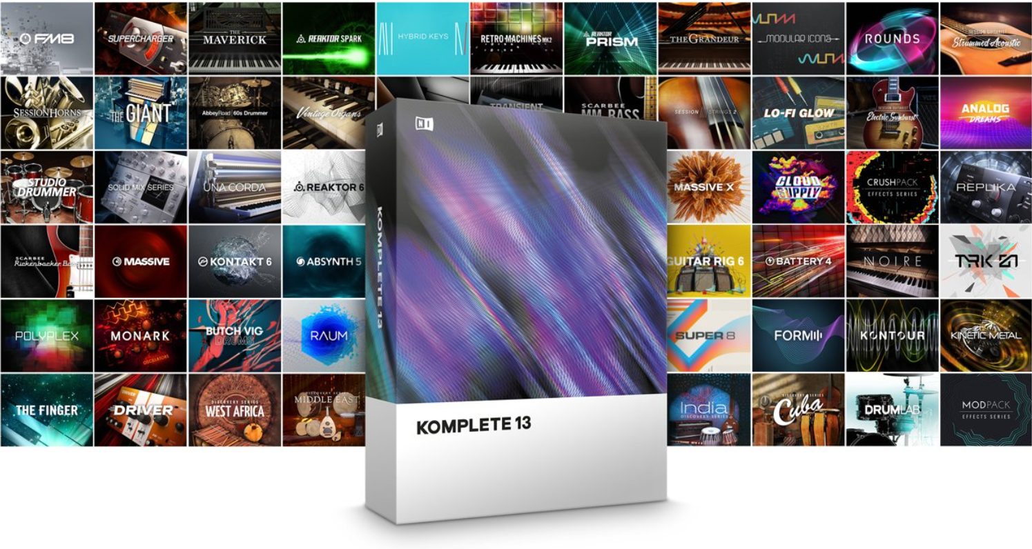 Komplete 13 is one of the best synth bundle for beginner producers
