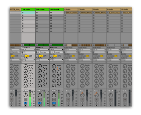Layering A Snare In Ableton Live