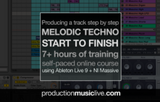 melodic techno start to finish course