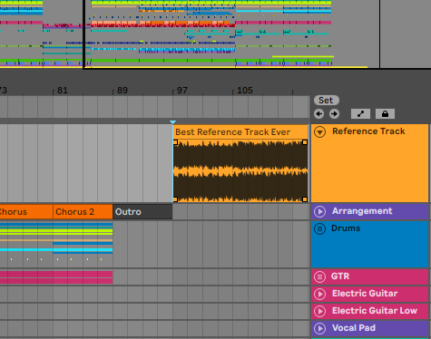 how to make your music sound better by using a reference track