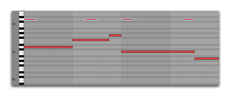 How To Make Melodies Using Repeating Notes