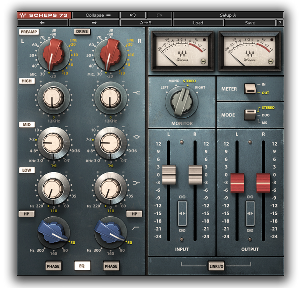 Best VST plugin for mixing Vocals Scheps 73 by Waves