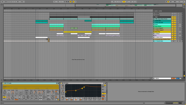 Flumed Holding Screenshot Ableton