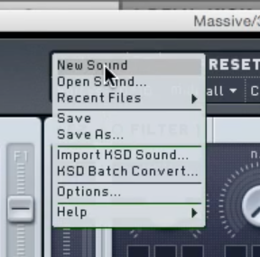 massive new sound option