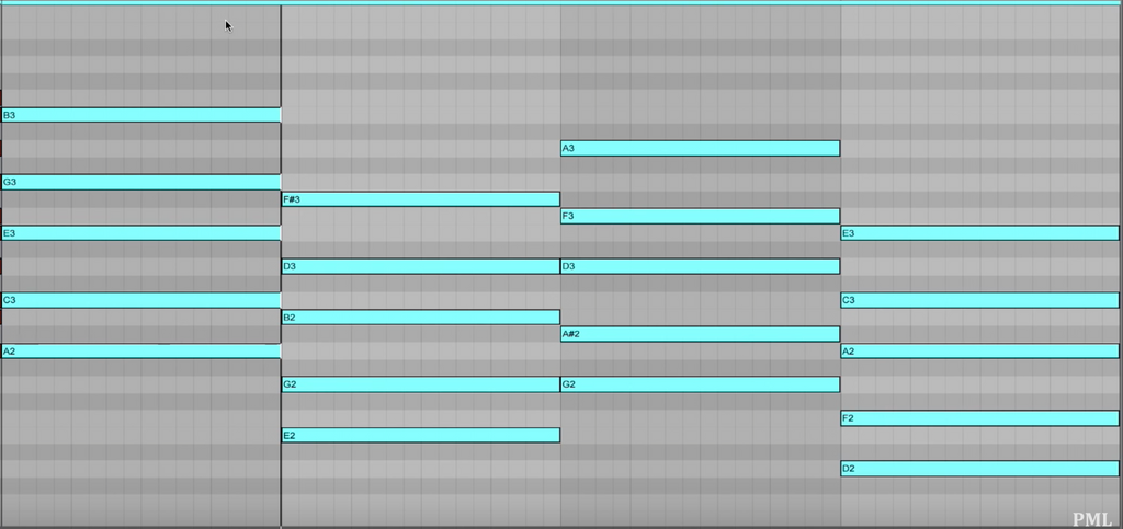 chords clip view ableton