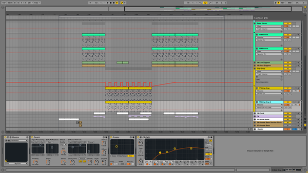 Flumed Holding Ableton Screenshot 2