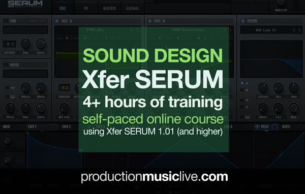 Xfer Serum Online Course