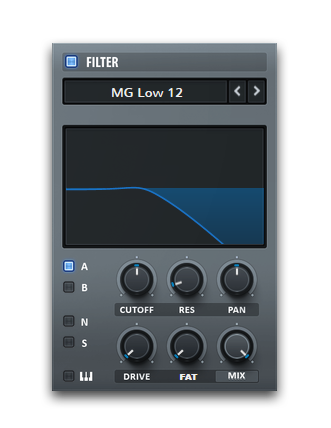 Serum Synth Filter