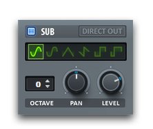 Serum Synth Sub Oscillator