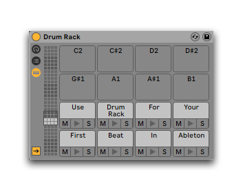 How To Make A Beat With Ableton Using Drum Rack First Time