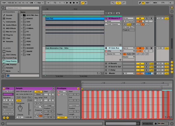 Trance Gate FX in Ableton